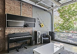 East village triplex, retractable walls
